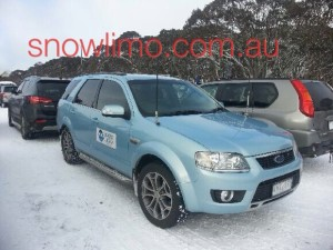 Ford Territory AWD Transfers to the Victorian Ski Resorts